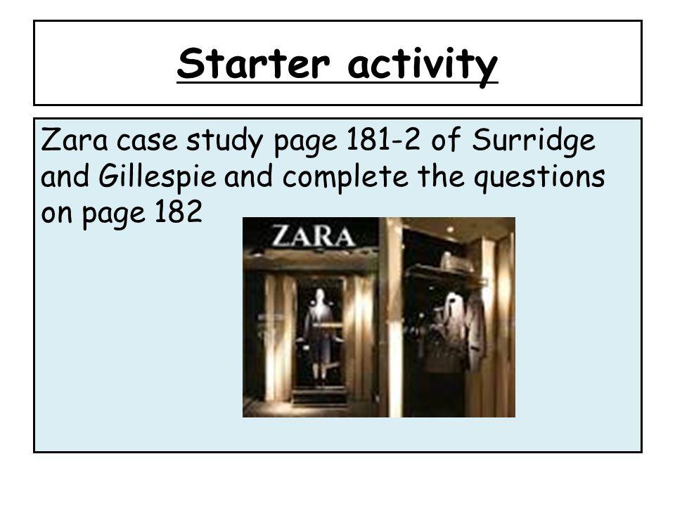 zara international case study Zara case study no description h&m, the gap, benetton zara international competitive advantage la coruna, spain in 1975 500 store in 30 countries sucessful.