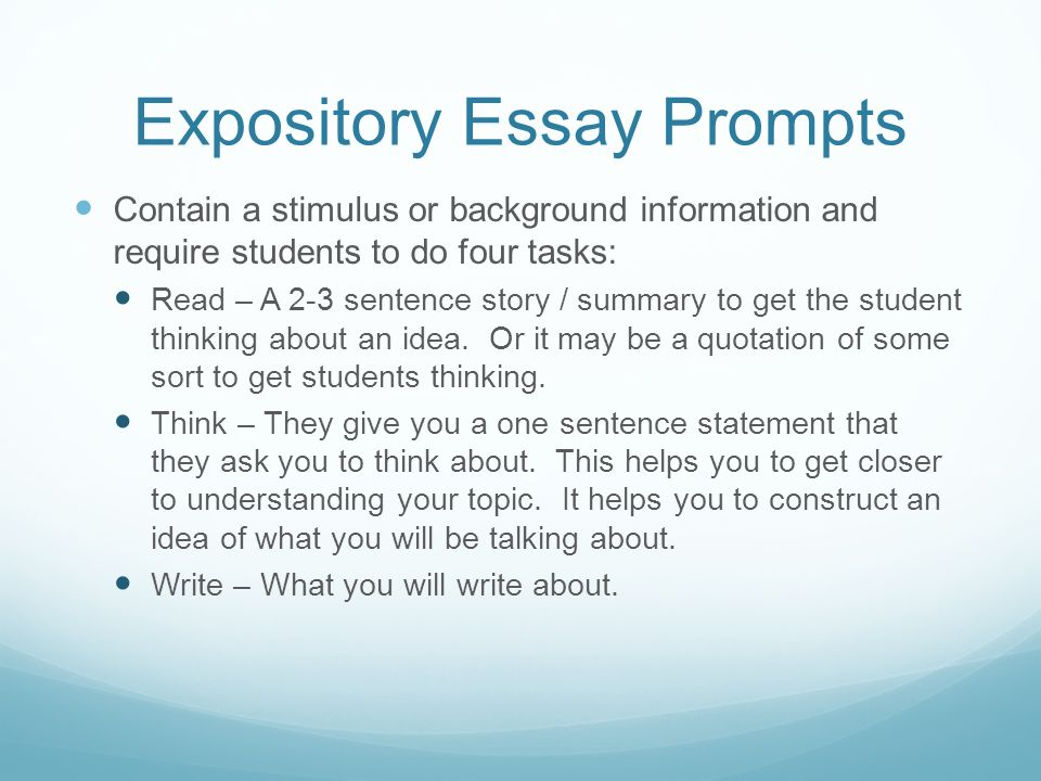 Best Expository Essays