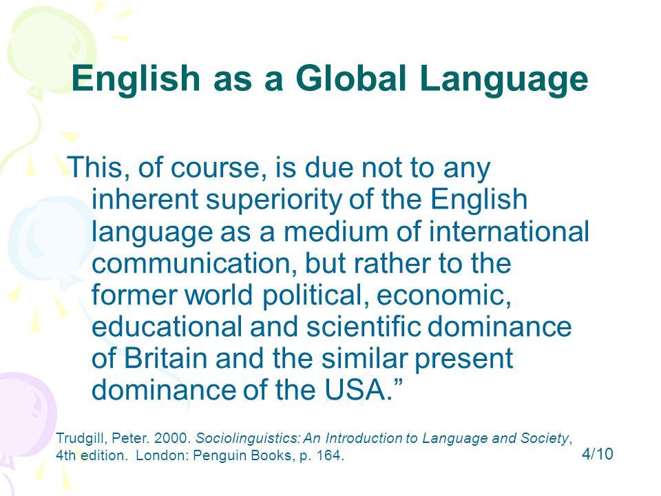 essay for english as an international language Book Review – English as an International Language Essay