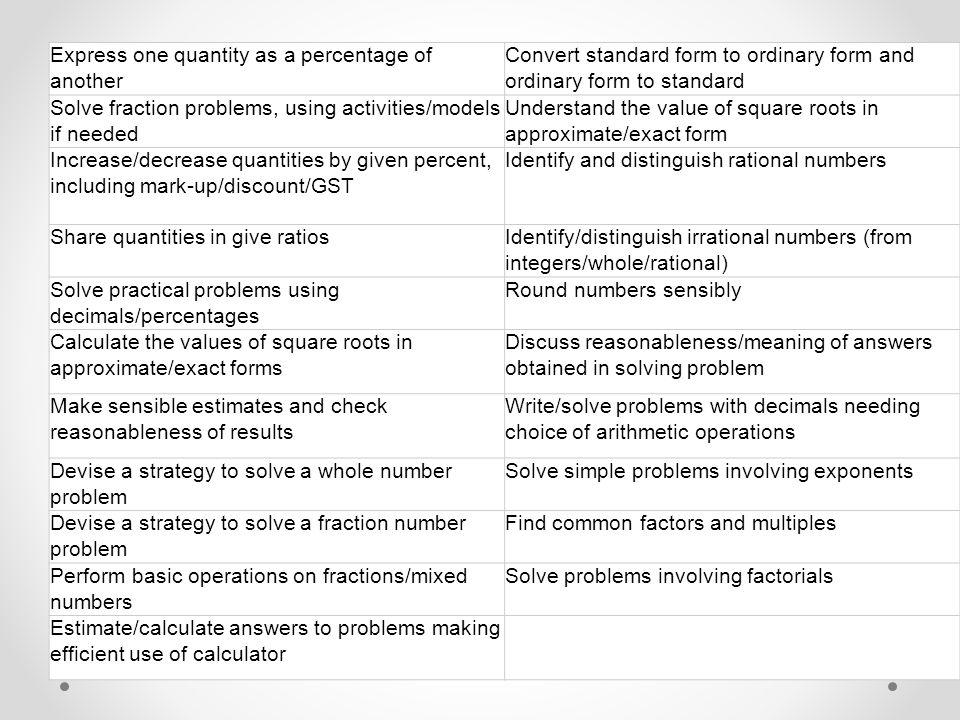 Year 9 Examinations Mathematics & Statistics ppt download