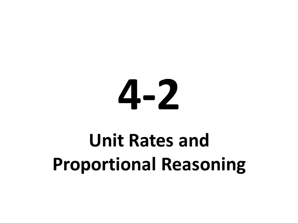 42 Unit Rates and Proportional Reasoning Video Tutor Help – Comparing Unit Rates Worksheet