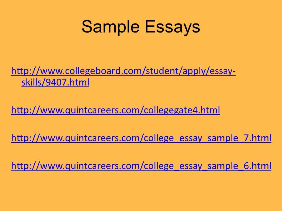 college board college essay