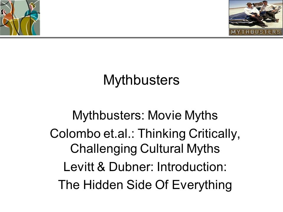 thinking critically challenging cultural myths author