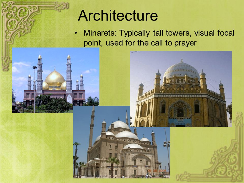 Architecture Mosques: Islamic Churches