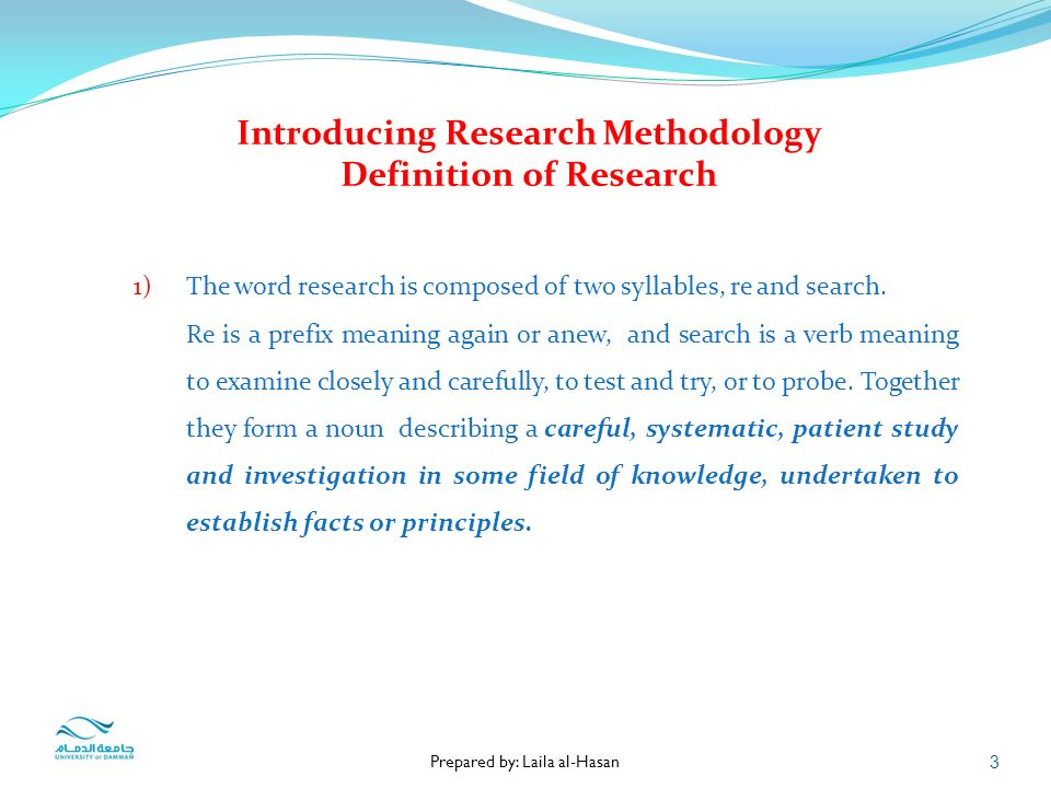what is the definition of research methodology 51 chapter 3 research design and methodology 31 introduction this chapter covers the research design and methodology, including sampling, population.