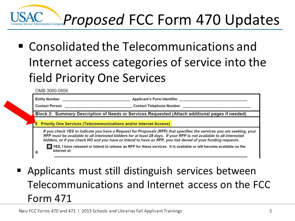 New FCC Forms 470 and 471 I 2013 Schools and Libraries Fall ...
