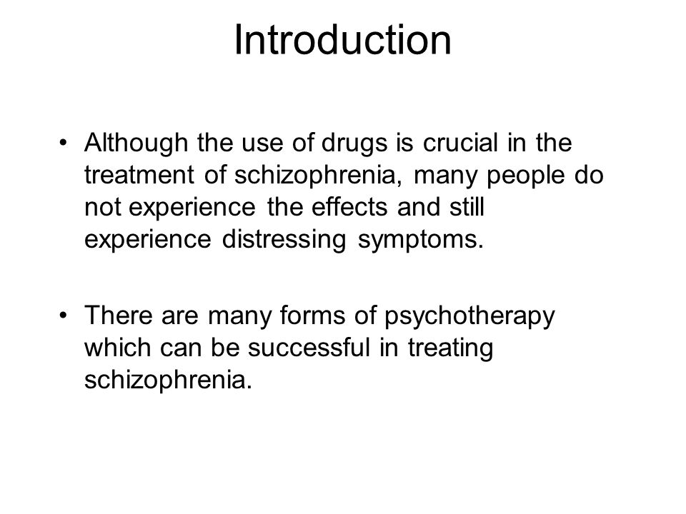 "introduction schizophrenia essay The symptoms, risk factors and treatments of schizophrenia essay 1958 words | 8 pages introduction to schizophrenia schizophrenia is a severe mental disorder that ""disrupts the function of multiple brain systems, resulting in impaired social and occupational functioning"" (lewis & sweet, 2009, pg 706."