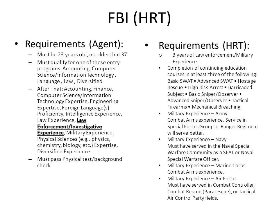 fbi requirements – citybeauty, Human body
