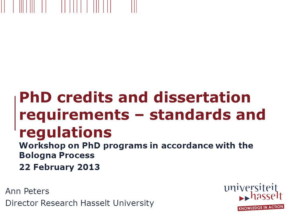 And Dissertation