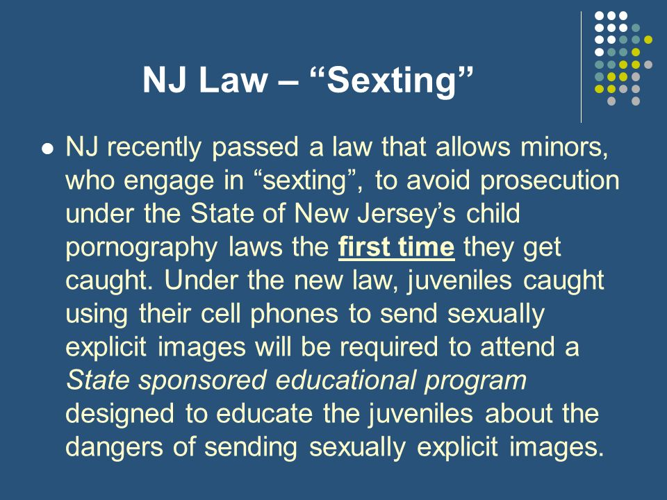 Dating age laws in new jersey