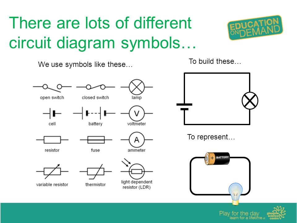 circuit symbols i have used a range of electrical components to help rh slideplayer com Parallel Circuit Diagram different schematic diagram