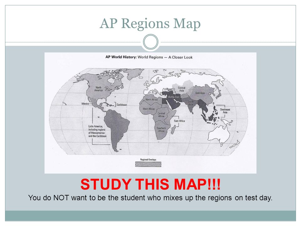 Adapted from mr millhouse ap world history hebron high school ap 39 ap regions map gumiabroncs Images