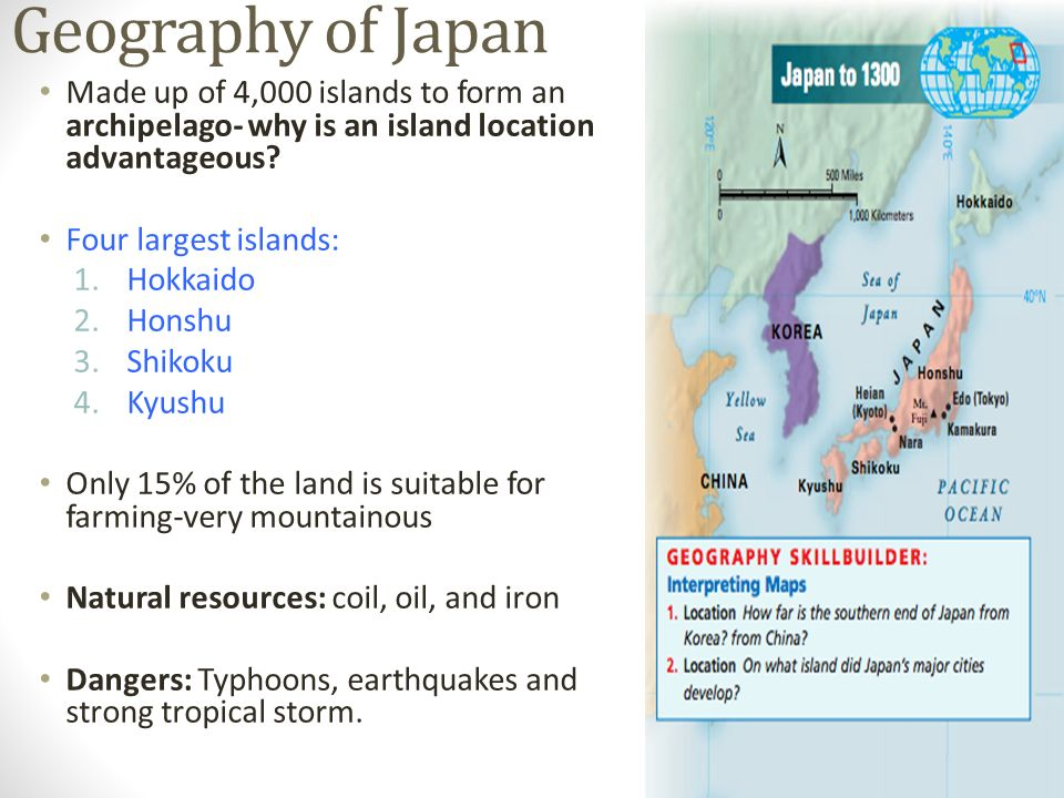 Japans Geography Aim How Did Geography Affect The Growth Of - Japan map questions
