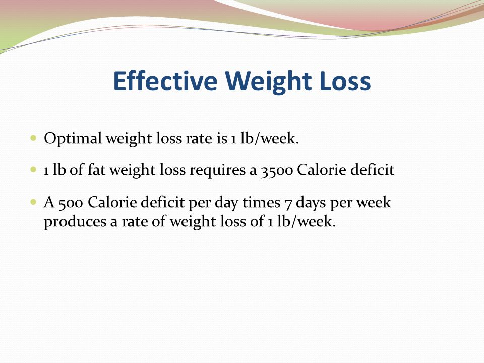 Quick way to lose weight