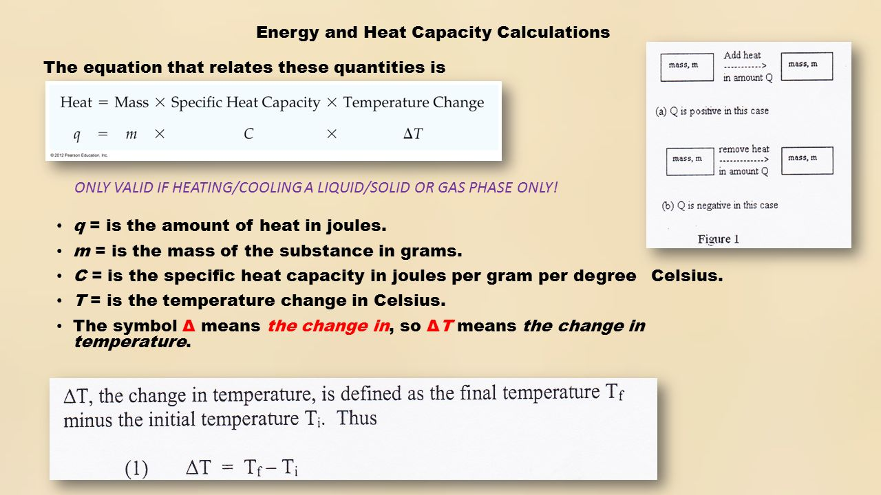 Experiment 5 thermochemistry specific heat of a metal ppt download energy and heat capacity calculations q is the amount of heat in joules buycottarizona Image collections