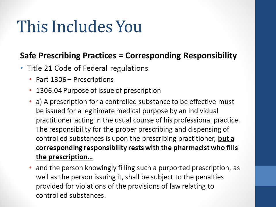 a description of pharmacists as healthcare professionals responsible for the dispensation of prescri A prescriber is a healthcare professional who can write a prescription independent prescribers are healthcare professionals who are responsible pharmacists.