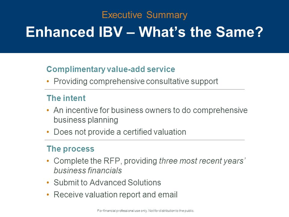 Informal Business Valuation And Business Planning Report New And