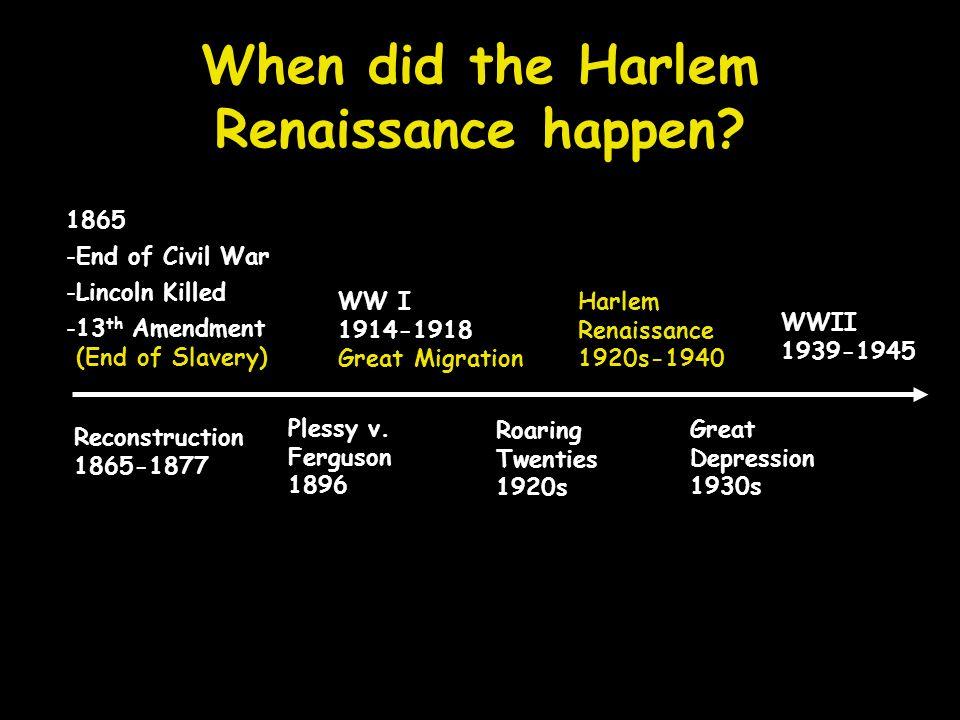 harlem renaissance 1 research project