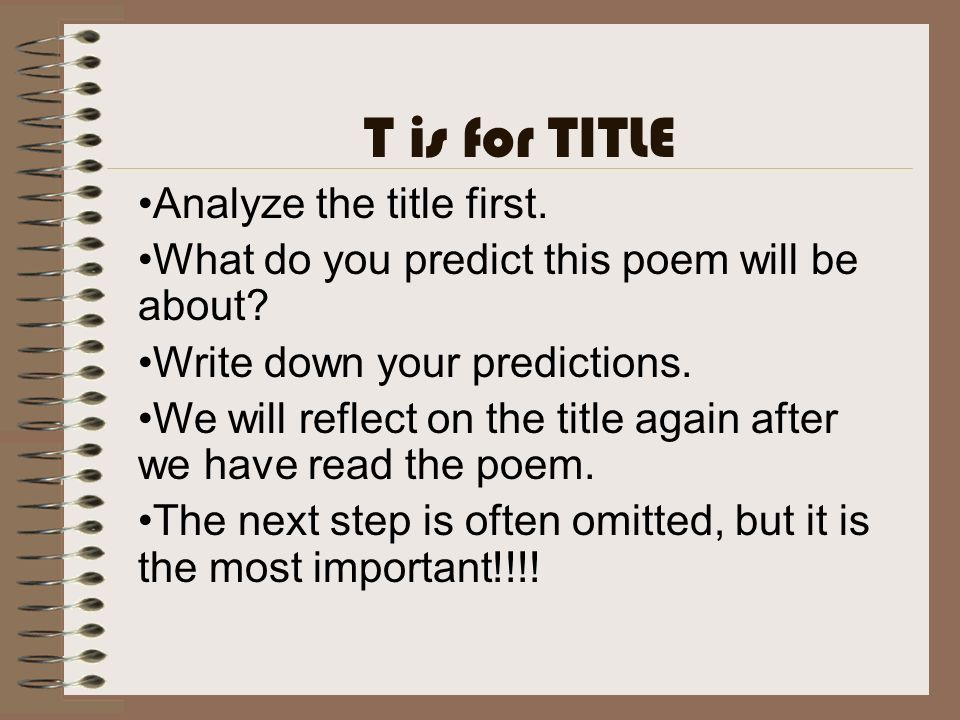 how to write a poem analysis essay Wwwjessaminek12kyus.