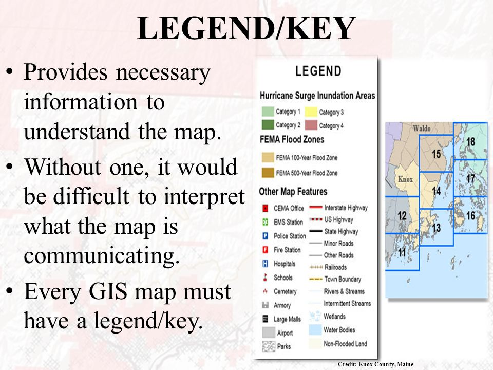 Unit 3 module 8 output output most common gis output is a map legendkey provides necessary information to understand the map sciox Gallery