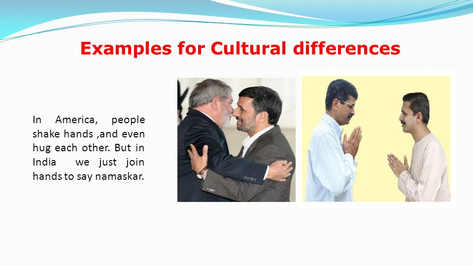 Examples Of Cultural Differences Images Example Cover Letter For