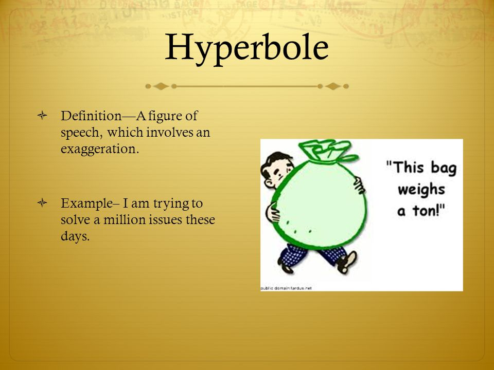 Meaning Of Hyperbole And 10 Examples Gallery Example Cover Letter