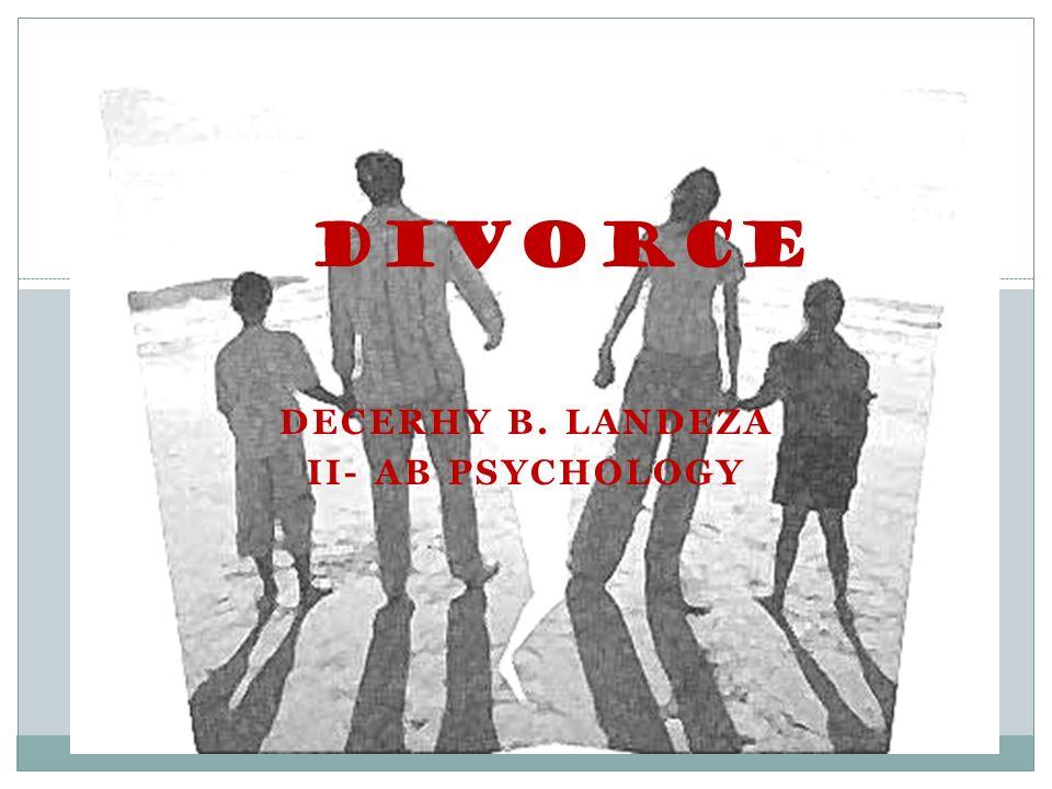 Decerhy b landeza ii ab psychology divorce dealing with divorce 1 decerhy b landeza ii ab psychology divorce solutioingenieria Choice Image
