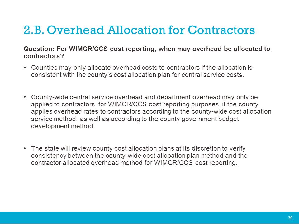 Wisconsin Medicaid Cost Reporting (WIMCR) and Comprehensive ...