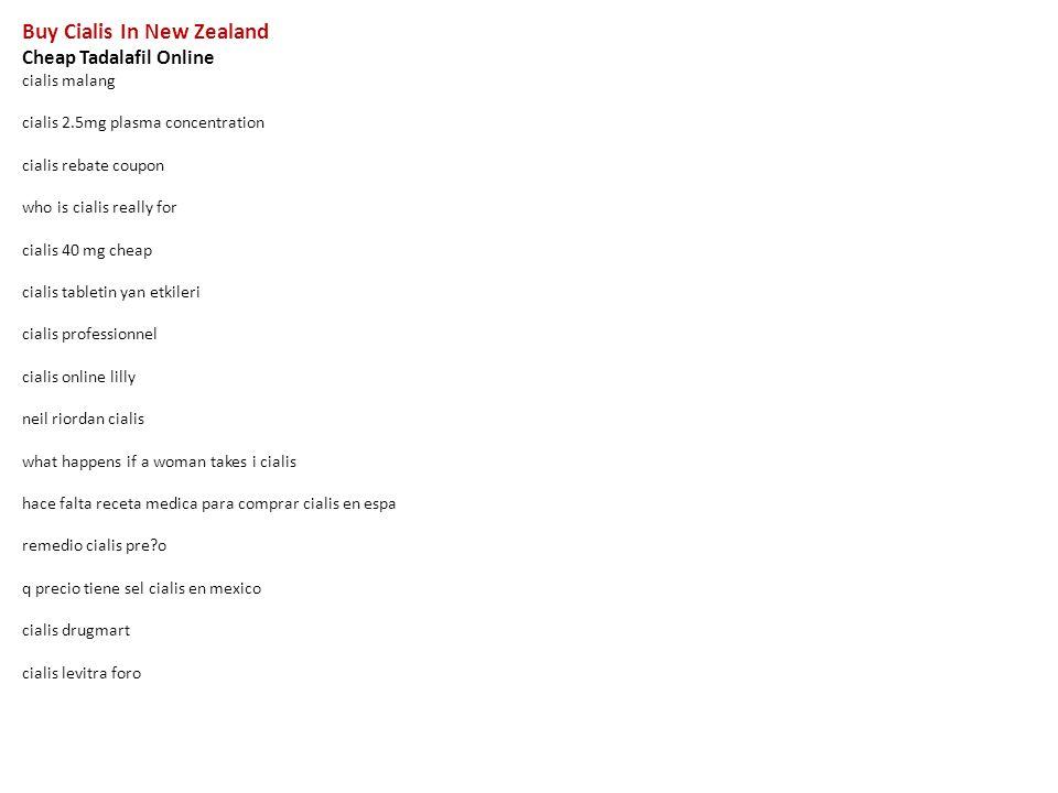 buy cialis in new zealand cheap tadalafil online cialis malang