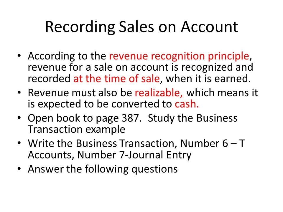 Chapter 14 – Part II. Analyzing Sales Transactions Store Credit ...