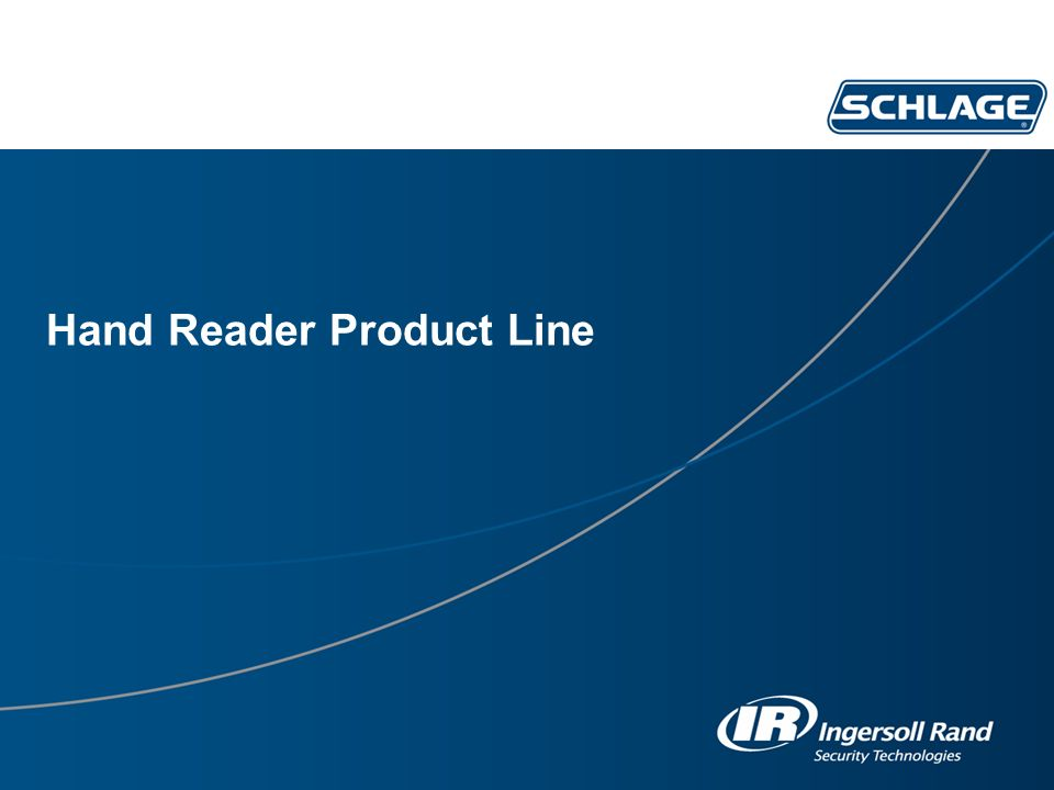 Hand Reader Product Line