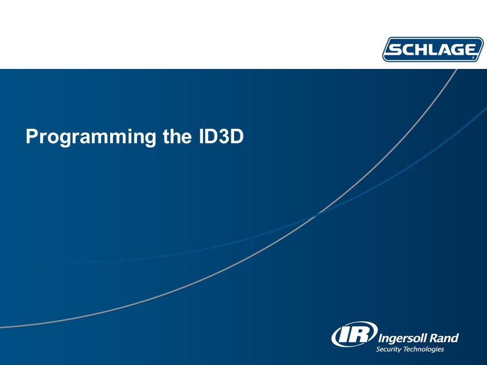 Programming the ID3D