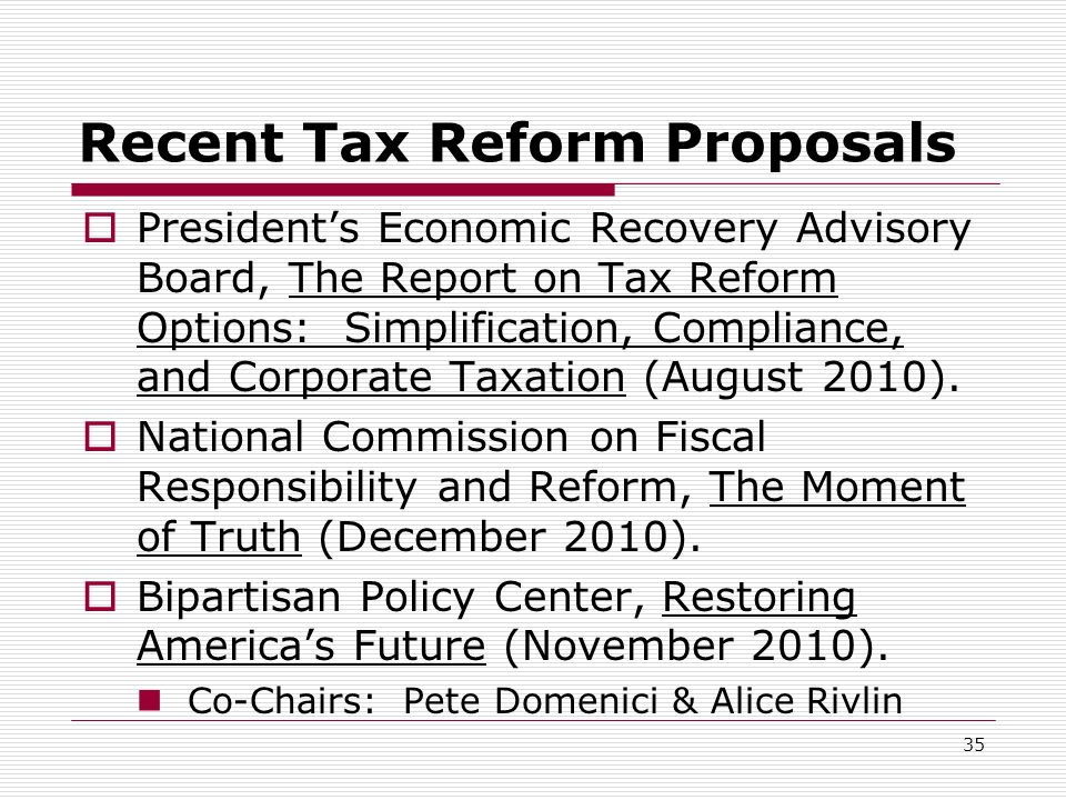 Taxes And Tax Reform In An Era Of Hyper Deficits And Gridlock By Jon