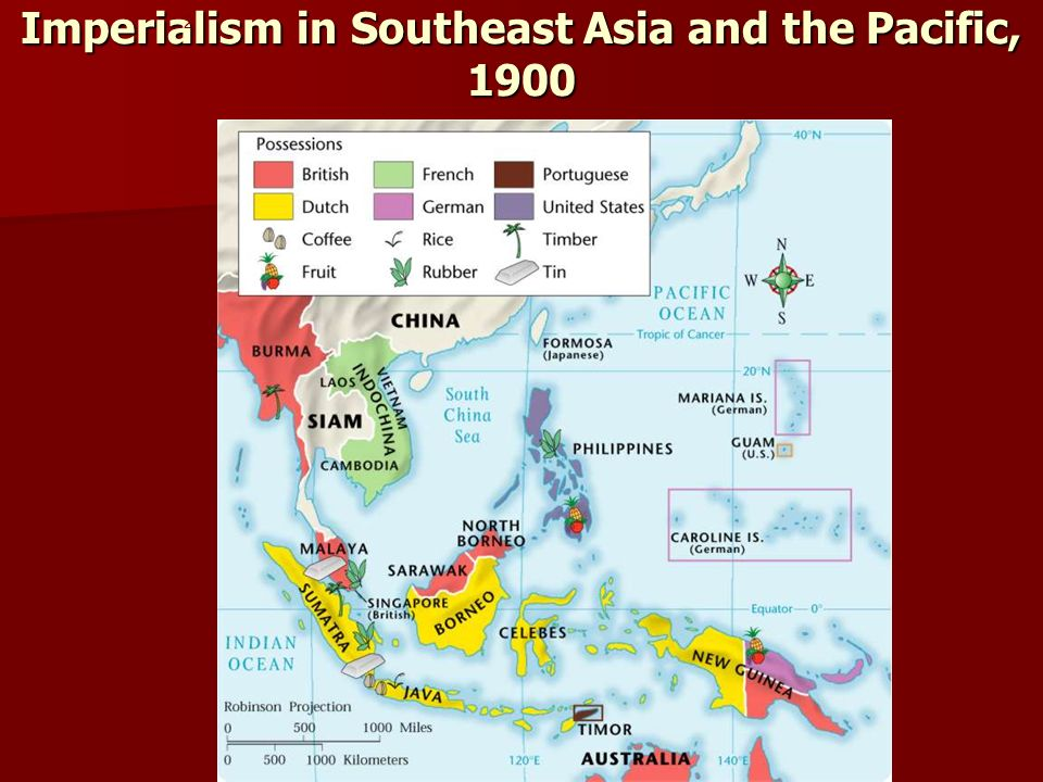 Imperialism in Southeast Asia and the Pacific, 1900 2