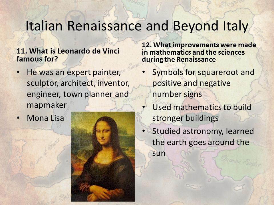 The Renaissance Chapter 19 Section One The Italian Renaissance 1