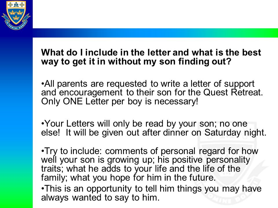 what do i include in the letter and what is the best way to get it