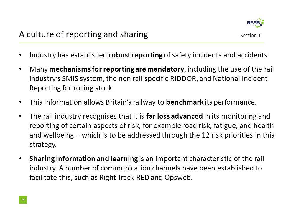 national incident report rail