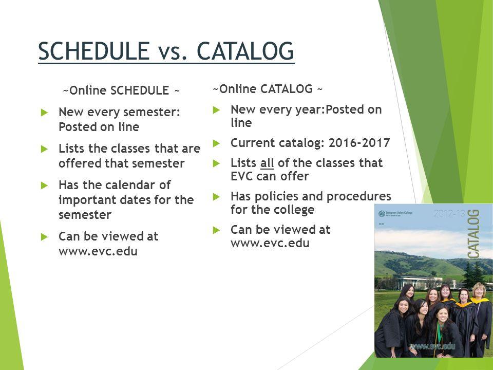 evergreen college calendar