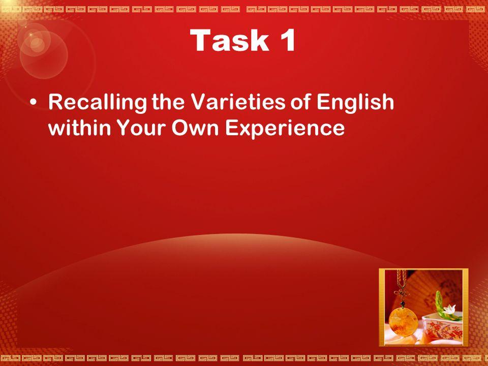 Activity 3 An Expanding Range of Language Uses