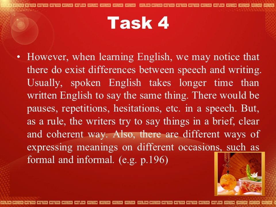 Task 3 Listing the Uses English Has for Advanced Users