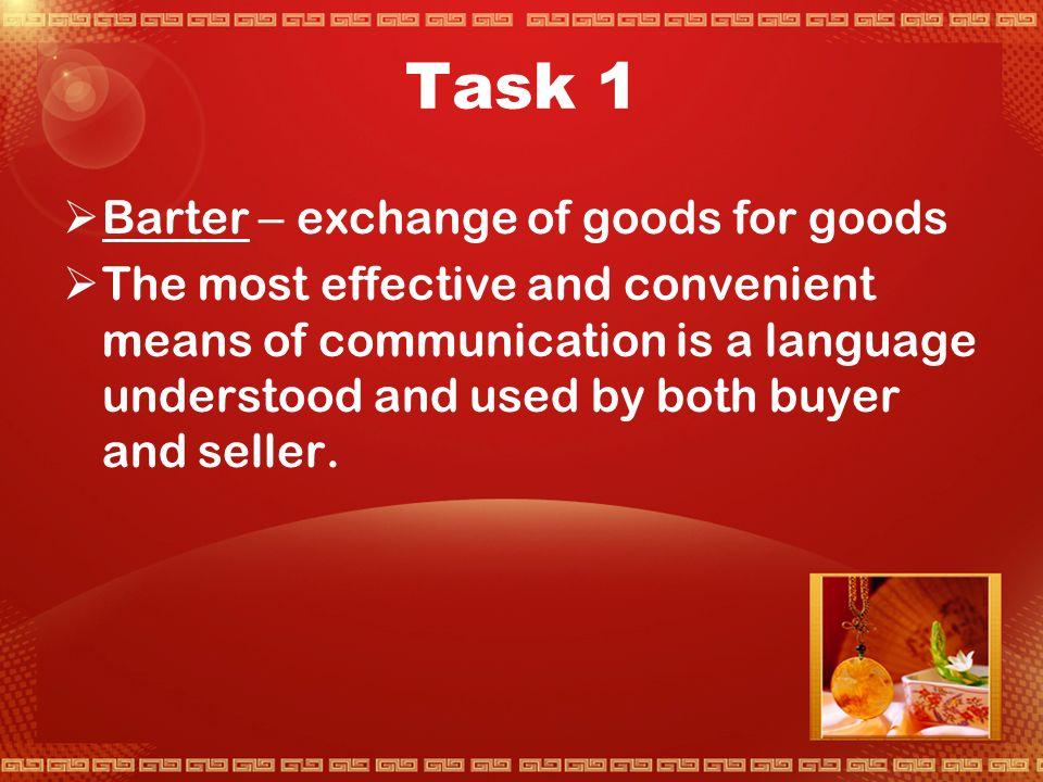 Activity 1 Markets Trade,and Language