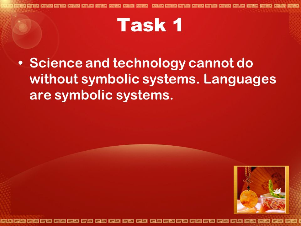 Activity 1 English as the Language of International Science