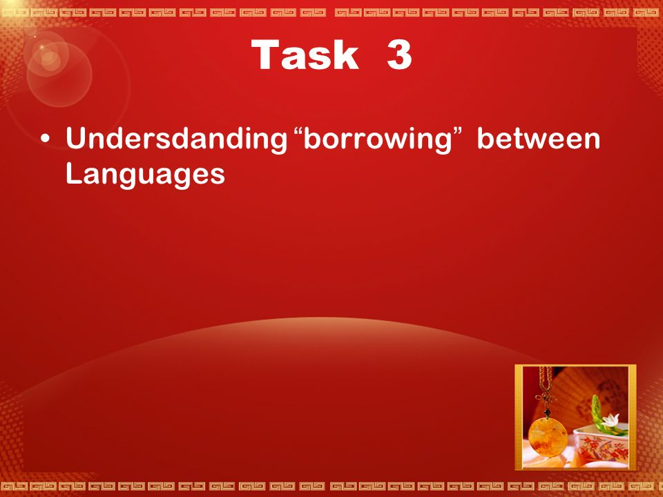 Task 2 Where do new words come from. 1.
