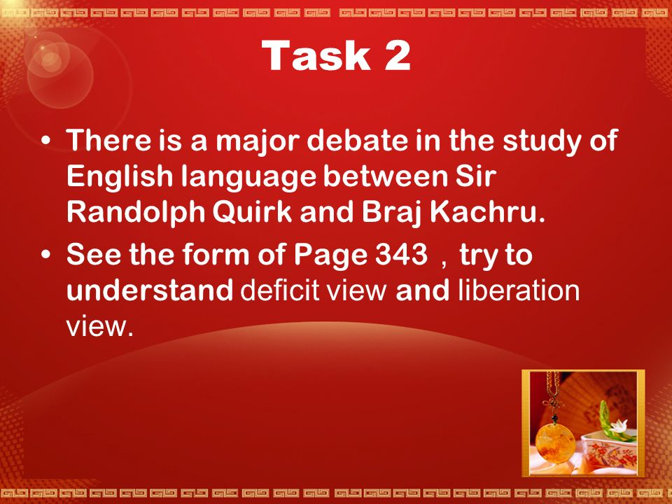 Task 1 An authoritative statement is one that is complete, considerate, and based on extensive and detailed knowledge.