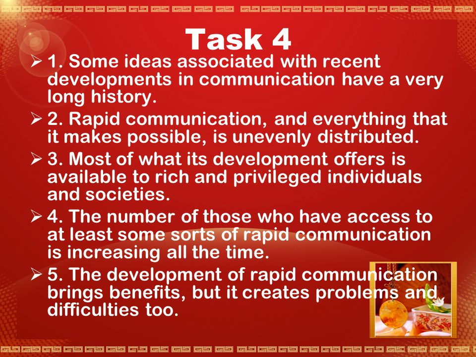 Task 3  Being young and having educational opportunities are other kinds of wealth and privilege.