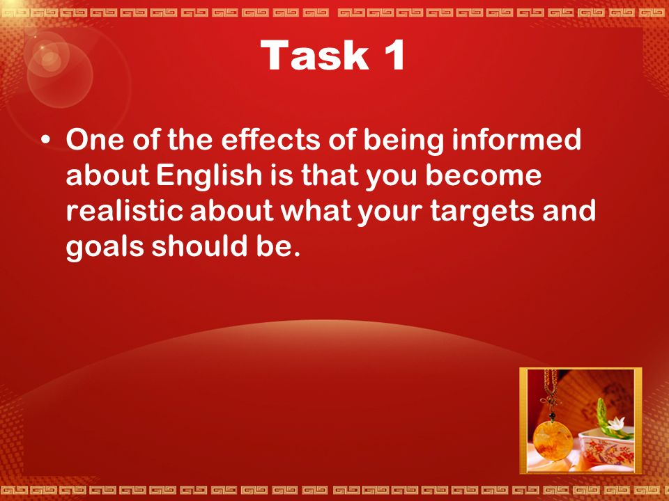 Activity 4 Your Changing English
