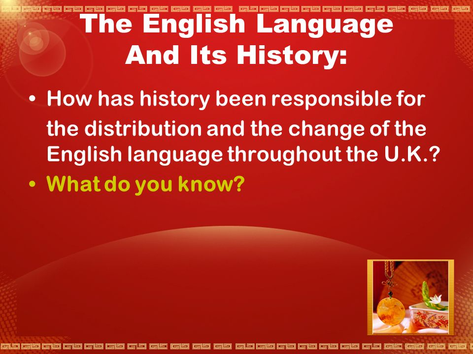 UNIT 2 English in the Past  This uint tells something about the past history of English.Just as English is different in different places so it varies at different times.There are historical dialects just as there are regional dialects.Language is shaped by the experiences of the people who use it and changes with their changing needs.we shall start with a look at the English of some past times — and then move further back in time to see how English came to be spoken ni the United Kingdom,and how it is nearly related to some languages and only distantly related,or not related at all,to others.this sort of study may seem at first sight a long way removed from everyday concerns,But it is closely connected with a pressing problemfor all students and teathers of languages — Why is it that languageare so much harder for some learners than they seem to be for others