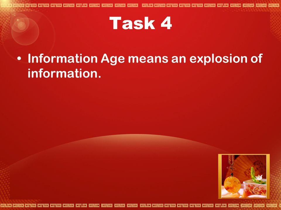 Task 3 There are some other usages of English, like listening to and enjoying pop music; watching English language films; international use of  ; reading; writing for an international readership, etc.