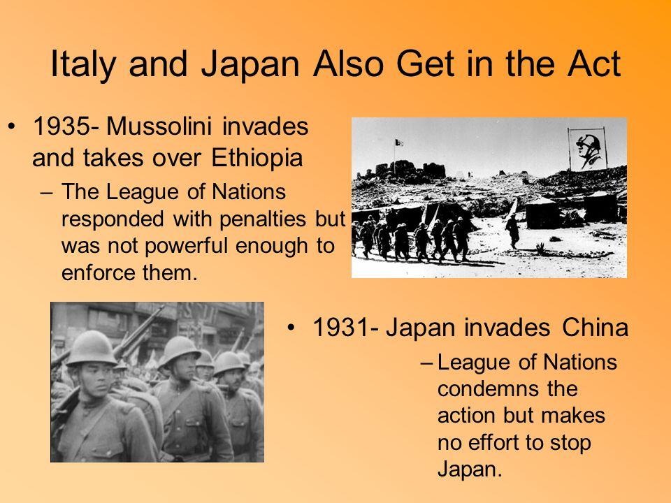 Mussolini conquers ethiopia