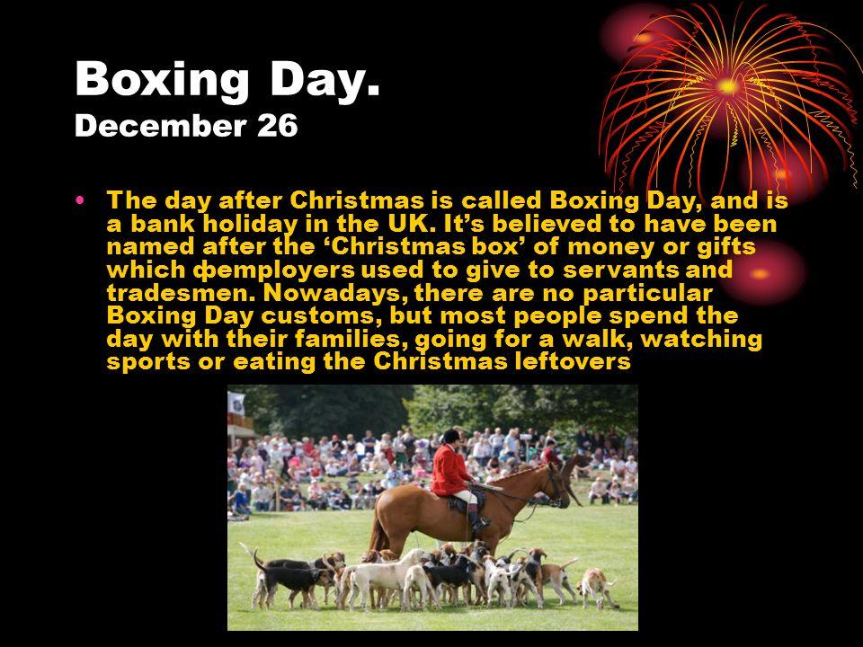 British holidays and festivals D.Djumaboyeva. There are many kinds ...